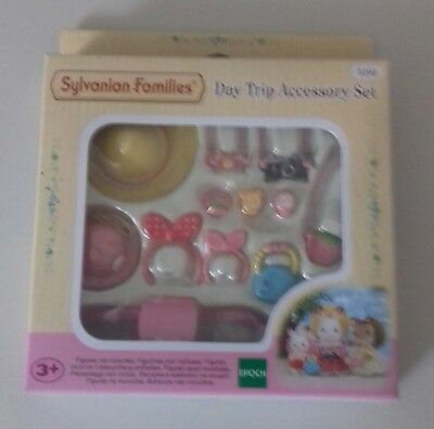 Sylvanian Families - Day Trip Accessory Set New
