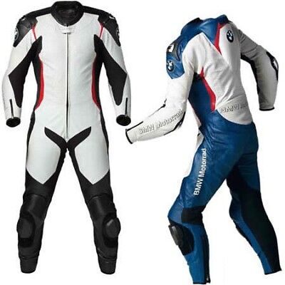 Bmw Leather Suit Motorbike Leather Suit Motorcycle Leather Jacket Pant 1 / 2-Pcs