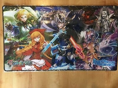 Force of Will TCG Curse of the Frozen Casket Playmat Unused