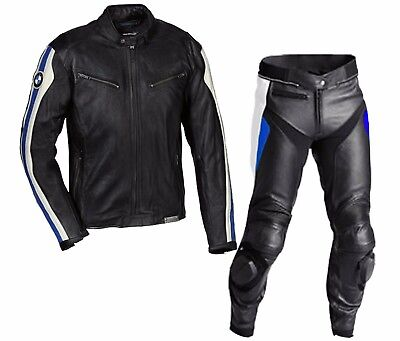 2018-Bmw Leather Suit Motorbike Leather Suit Men Motorcycle Leather Jacket Pant
