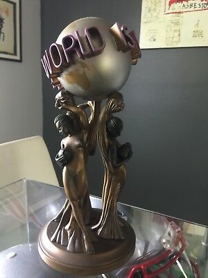 The World Is Yours Statue Scarface Authentic Rare Out Of Print Amazing Quality
