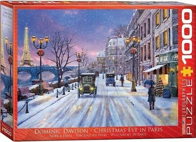 Eurographics 6000-0785 Christmas Eve in Paris 1000-Piece Puzzle