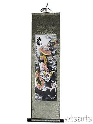 Large Dragon Chinese Gift Scroll, Chinese Painting.