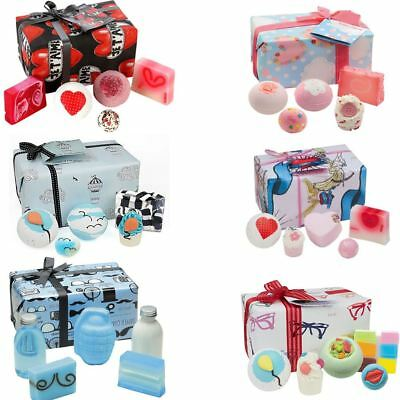 Bomb Cosmetics Wrapped Gift Pack Set Handmade Soap Bath Bomb Blaster