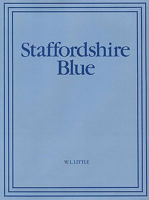 Staffordshire Blue White Pottery - History Types Patterns Makers Marks..../ Book