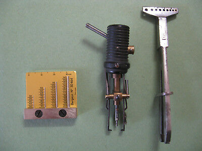 Rare & Unusual Hand Related Vintage Tools From A Retired Watchmakers Workshop.