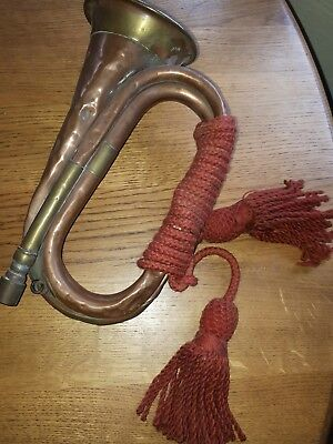 Antique Brass and Coper Hunting Bugle