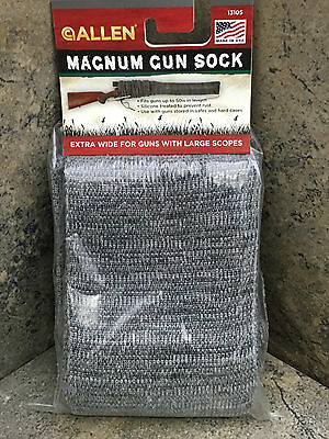 New Allen Oversized Knit Gun Sock 13105 Fits Guns with Large Scopes Made in USA