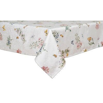 Lenox Butterfly Meadow 60-inch by 102-inch Oblong / Rectangle Tablecloth - New!!