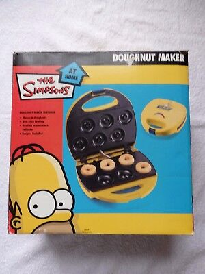 The Simpsons Doughnut Maker - Make Your Own Doughnuts With Homer