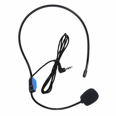 Wire Voice Amplifier Sound Booster Microphone Headset For Teaching Class Speech