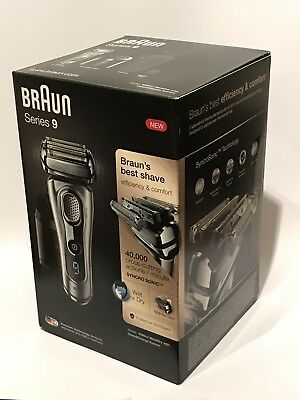 Braun Series 9 Wet And Dry 9290Cc Mens Shaver, Clean/charge Station Bnib Rrp£249