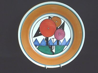MMA Museum of Modern Art Clarice Cliff Art Deco Reproduction Plate