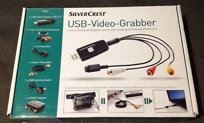 SilverCrest USB Video Grabber 2.0 Analog Video VHS Digitalisieren