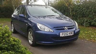 2002 Peugeot 307 Xsi 1.6 5-Door Hatchback