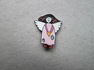 Angels welcome - Pin.  (Rosa)