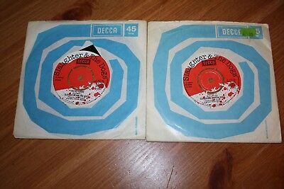 """Collection Of 4 - Slaughter And The Dogs  7"""" Singles - Listed And Graded + Demo"""