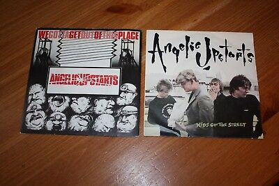 """Collection Of 6 - Angelic Upstarts  7"""" Singles - Listed And Graded"""