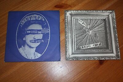 """Collection Of 6 - Sex Pistols  7"""" Singles - Listed And Graded"""