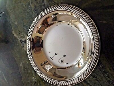 """Reed and Barton 1208 Silver Plate 6 1/4"""" Bowl"""