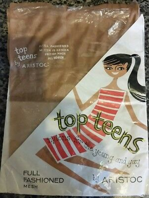Vintage Top Teens By Aristoc Nylon Stockings-RARE