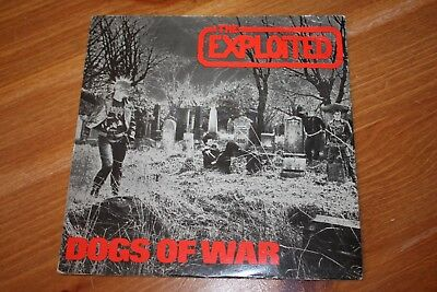 The Exploited - Dogs Of War - Uk Issue  - 1981 - Very Good++