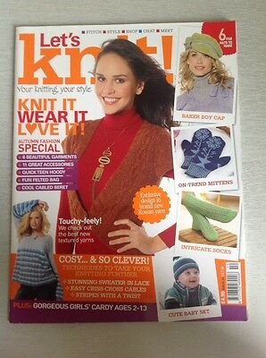 Magazine Lets Knit Issue 23 Oct 09