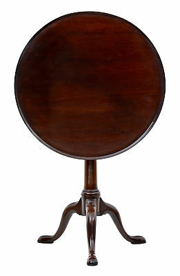Early 19Th Century Georgian Mahogany Tripod Table