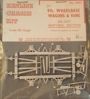 Kenline Chasis CH2 OO Die-Cast Kit for 9ft Wheelbase Wagons & Vans