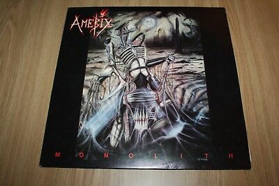 Amebix - Monolith - Uk Issue -1987 + Insert -  Very Good