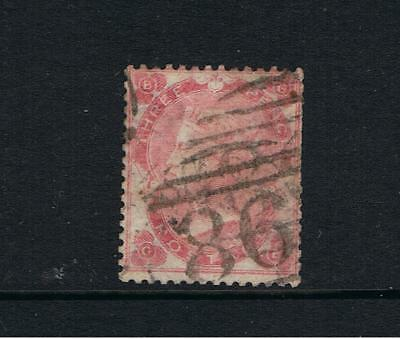 Great Britain - 1862  Victoria  - 3d Pale Rose  SG 27  - Used  Cat. £250