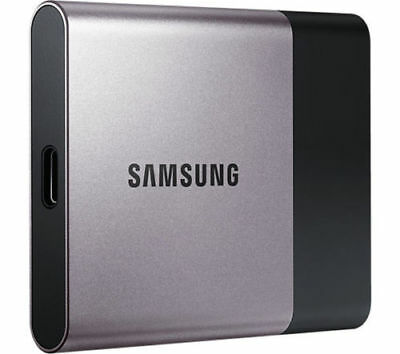 SAMSUNG T3 External Portable SSD 250GB Shock proof USB 3.0 Tough metal chassis