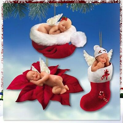Ashton Drake Santa's Little Baby Angels Ornament Collection