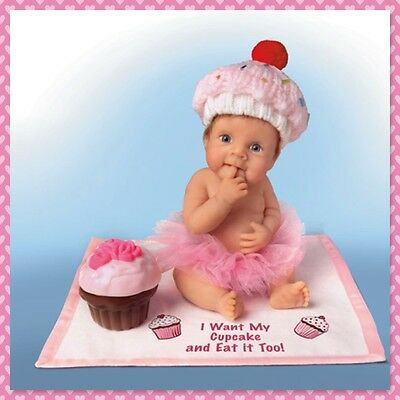 Ashton Drake - I Want My CupCake/Eat It To Little Baby Doll by Sherry Rawn