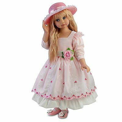 Child doll 25'' Blossom ''SEASONS OF INNOCENCE'' by Angela Sutter - Spring