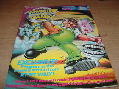 Computer And Video Games Magazine June 1984 Jet Set Willy