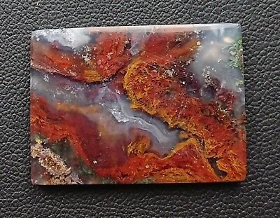 Agate paysage 33 carats - Natural moss agate Indonesia