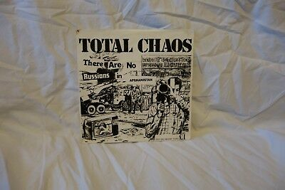 Total Chaos - No Russians in Afghanistan - Punk, Oi - Clash, Pistols