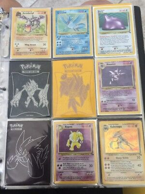 Pokemon Fossil Set Almost Complete NM To LP