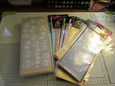 105 Sheets Of Quality Peel-Offs In Plastic Storage Box