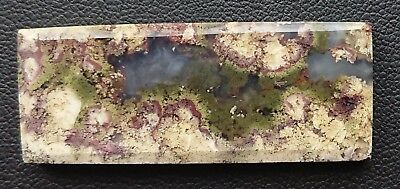 Agate paysage 46.8 carats - Natural moss agate Indonesia
