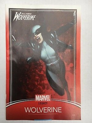 Marvel Comics:  All-New Wolverine #25 Variant (2017) - BN - Bagged and Boarded