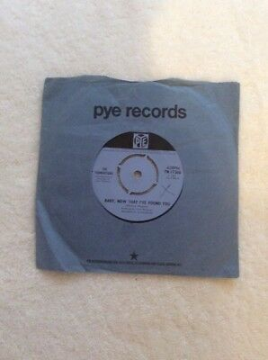 "The Foundations - Baby, Now ThatI've Found You 7"" Single"