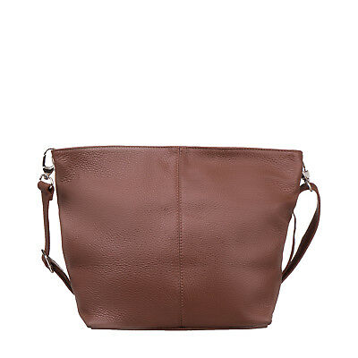 2017/18 Winter Tuscan Excellence Shoulder Bag Made in Italy Grainy 100% Leather