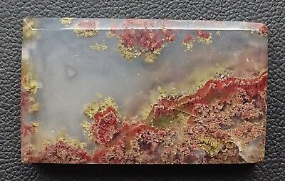 Agate paysage 65 carats - Natural moss agate Indonesia