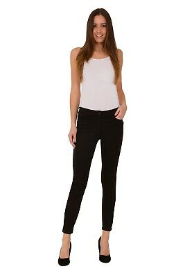Ex M&S Womens Black Jeans Sculpt & Lift Skinny Added Stretch 6-22 Marks Spencer