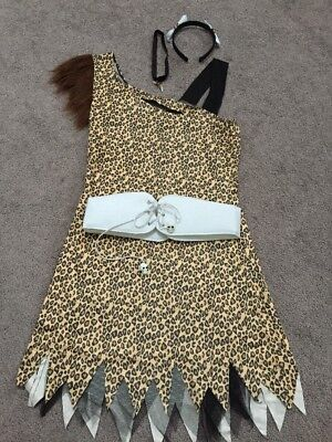 """Adult """"Cave Girl"""" Womens Halloween Costume S/M"""