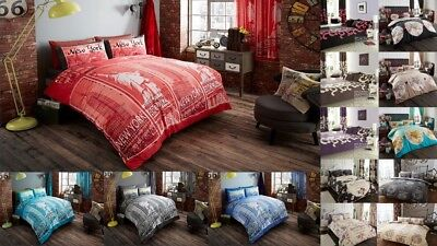 Duvet Covers with Pillow Cases Quilt Covers Bedding Set Double King Free Postage
