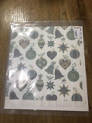 Decal Sheet For Fused Glass - Festive