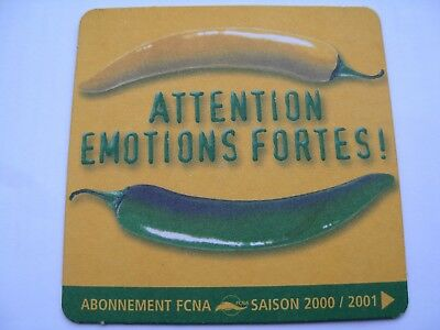 Sous Bock Biere Attention Emotions Fortes